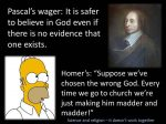 Pascal's Wager vs Ryan's Wager