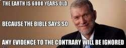 YEC Ken ham 6000 years ago ignores evidence