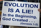 they reject evolution