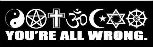 atheists vs religion